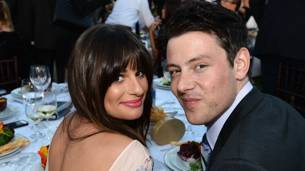 getty_lea_michelle_cory_monteith_07142021